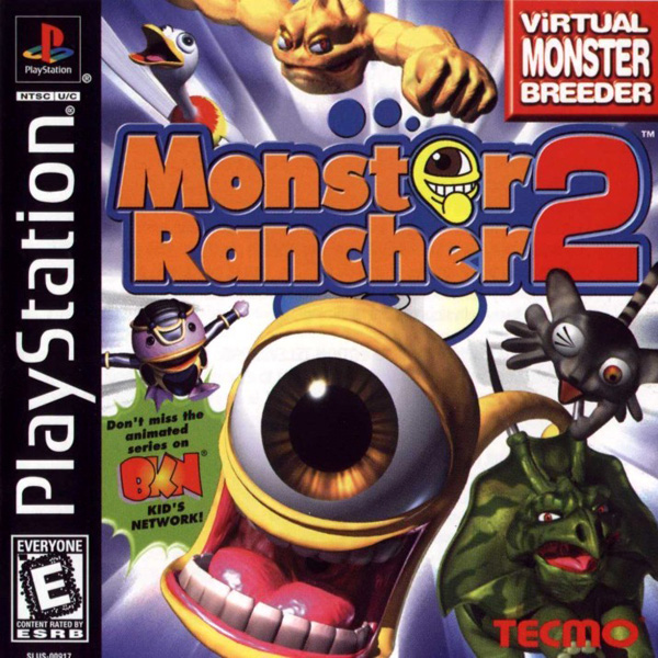 Monster Rancher 2 [NTSC-U] Front Cover